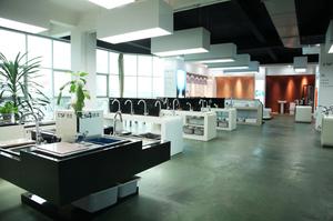 洁士卫浴展厅